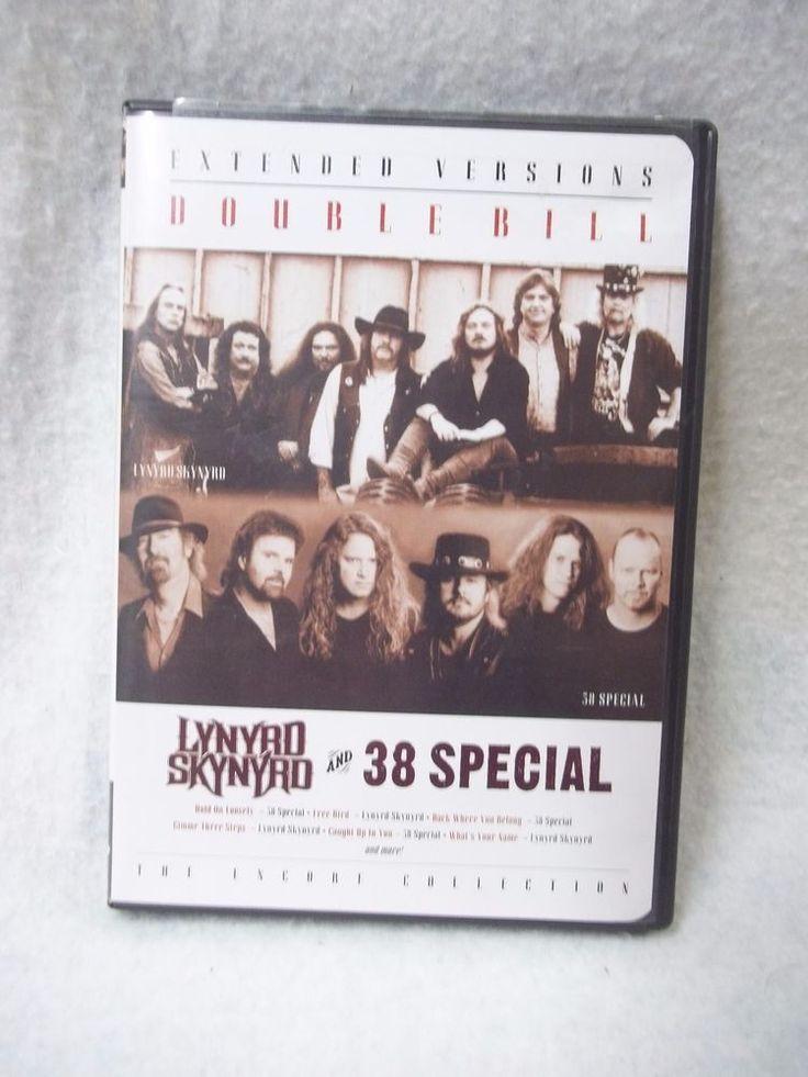 Extended Versions Double Bill  Lynyrd Skynyrd  38 Special 2002 DVD Tested #LynyrdSkynyrd #38Special #concertDVD #eBay