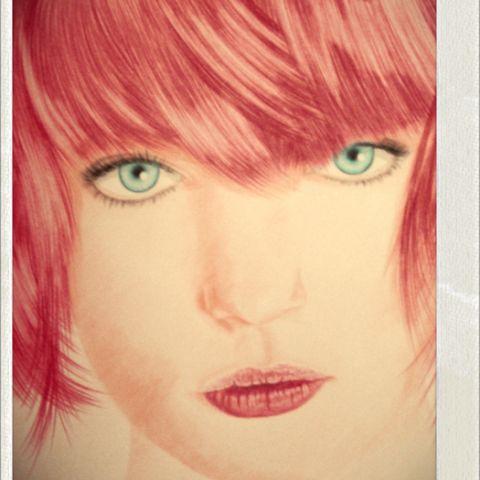 Ilustración en base a lápiz color.