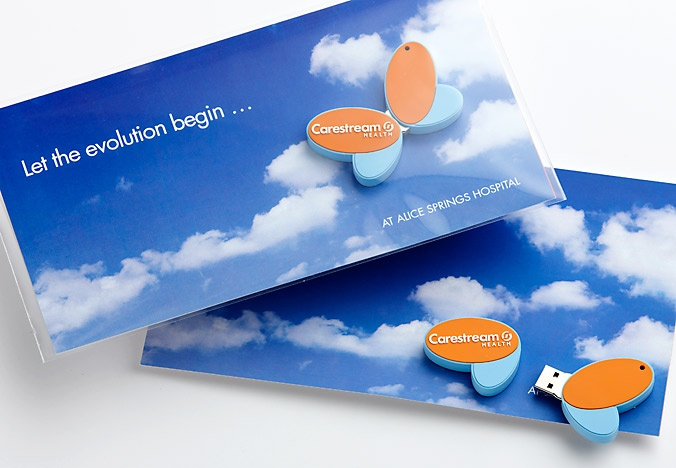 Agency: Wellmark | Category: B2B/Healthcare digital technology | Work: Carestream Health direct mailer | Target audience: healthcare professionals (radiologists, radiographers, C-suite decision makers)