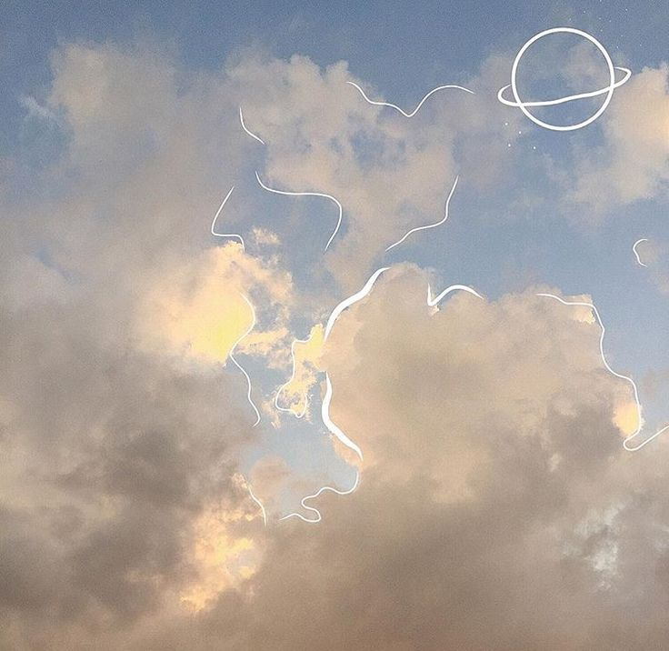 Cute Doodle Wallpaper Hd Lil Psycho Skies Fotografia Arte Nubes