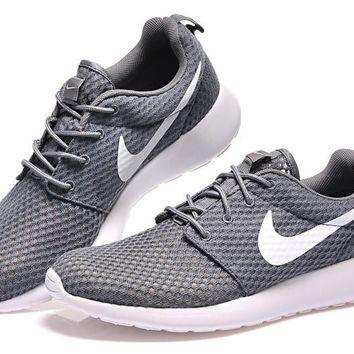 """NIKE"" Trending Fashion Casual Grey Sports Shoes"