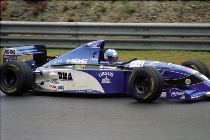 1995 Spa-Francorchamps Pacific PR02 Giovanni Lavaggi