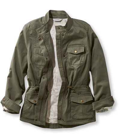LL Bean Lined Freeport Field Jacket