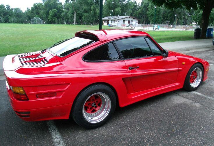 1986 Porsche 911 - Rinspeed R69 / Testarossa influence :-(