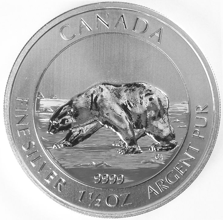 Produced by the Royal Canadian Mint, a world-class provider of branded investment products as well as circulation and non-circulation coins, Lear Capital (www.learcapital.com) introduces the silver Polar Bear Coin, a 1.5 ounce coin honoring the majestic, arctic polar bear. The coins mentioned above are often referred to as numismatic coins. Call for details (800)783-1407