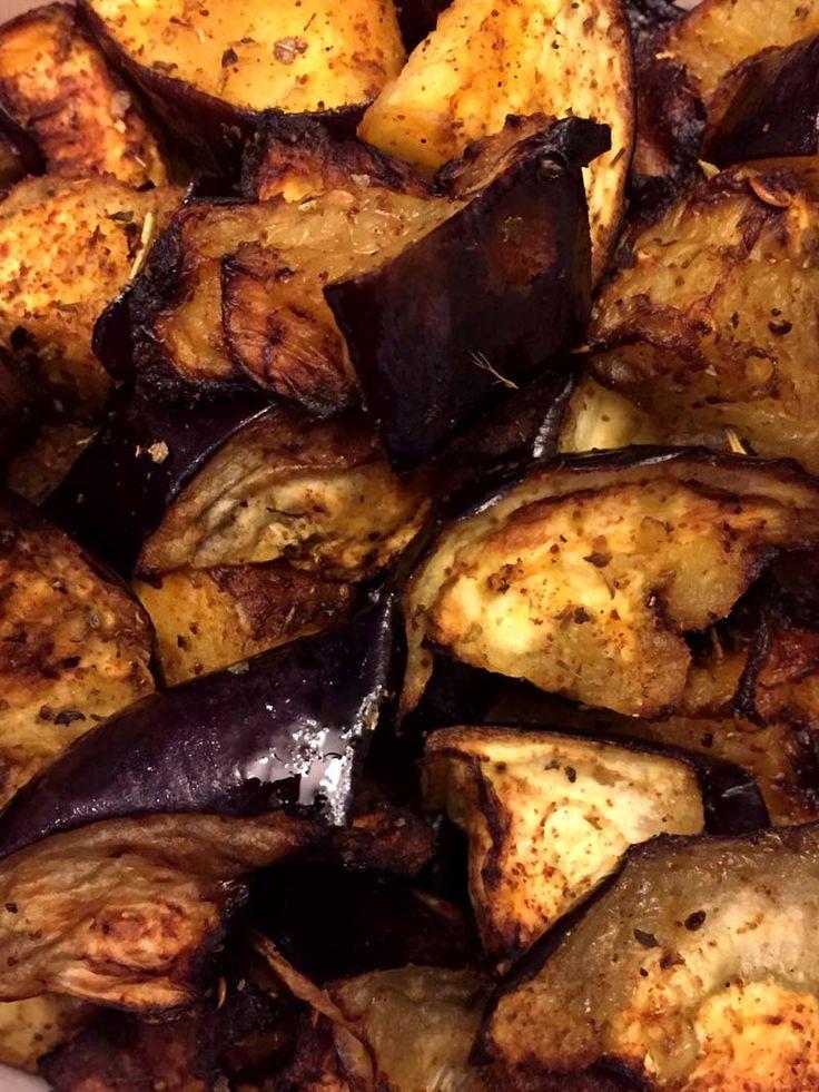 Air Fryer Eggplant Recipe in 2020 Eggplant recipes