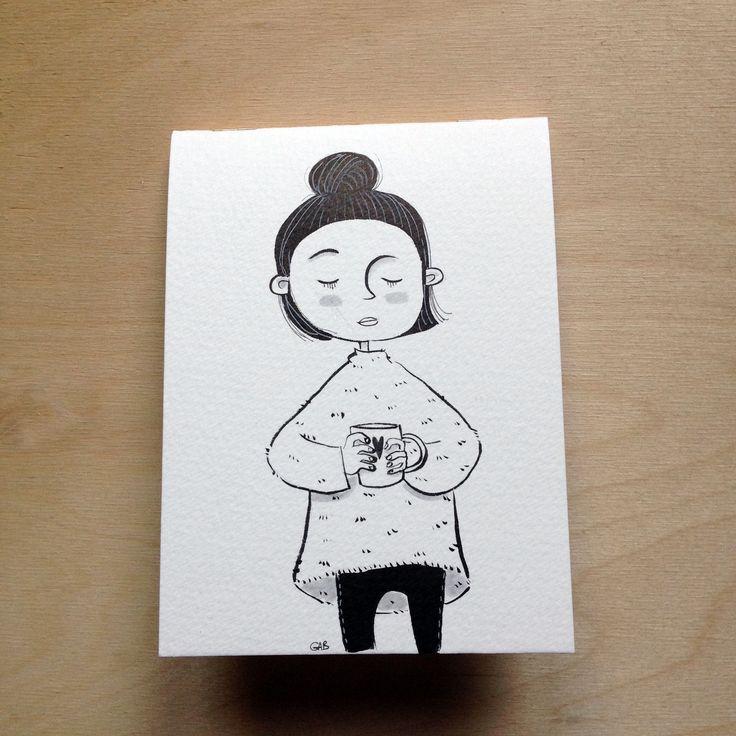 block-notes realizzato e disegnato a mano, fogli a righe : Materiale per la scrittura di gab77