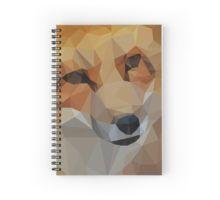 Fox print on spiral notebook!