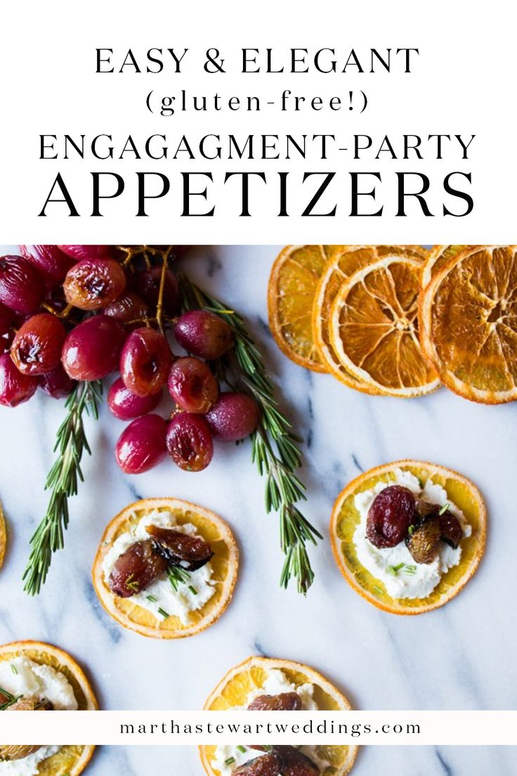 Easy engagement party recipes