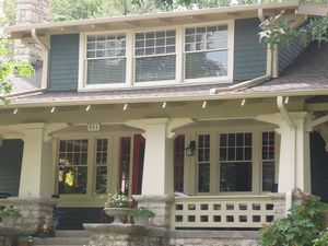 Craftsman Home Exterior best 25+ craftsman style porch ideas on pinterest | craftsman