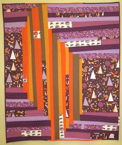 Improv is Foxy Quilt, by Amy Dame.
