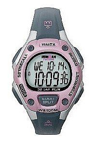 Ironman 30-Lap Flix Indiglo Night Feature and Mode Feature Flick your wrist totriggerlgt 100 hour chrono - Ladies by Timex. $42.89. Resin Band 330 Feet (100 m) Mineral Crystal Quartz Movement
