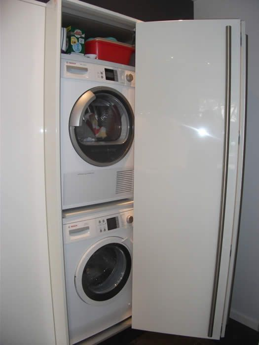 Badkamer Idee Wasmachine : Ideas for vans weg te de wasmachine om ...