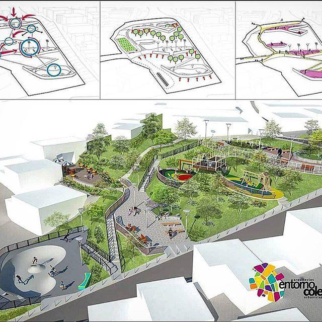 #arquitectura #architecture #architecturedesign #arquitecturacolombiana #espaciopúblico #integraciónsocial #urbandesign #social #sostenible #integral #participacionciudadana