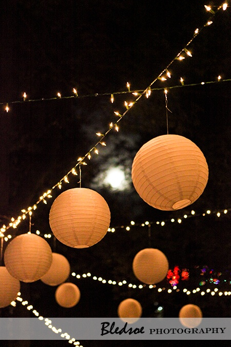 Hanging balloons and lights.: Decor, Dates Wedding'S Marriage, Dates Wedding Marriage, Night Time Wedding, Paper Lanterns, String Lights, Dreams Wedding 3, Art Night, Hanging Balloons
