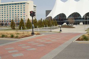 "City Square & Double Holland Composition & Manufacture: Holland-Stone™ is manufactured from a ""no slump"" concrete mix. Utilizing extreme pressure and high frequency vibrations. Holland-Stone™ has a compressive strength greater than 8,000 psi, a water absorption maximum of 5% and will meet or exceed ASTM C-936 82 and freeze-thaw testing per section 8 of ASTM C-67-73."