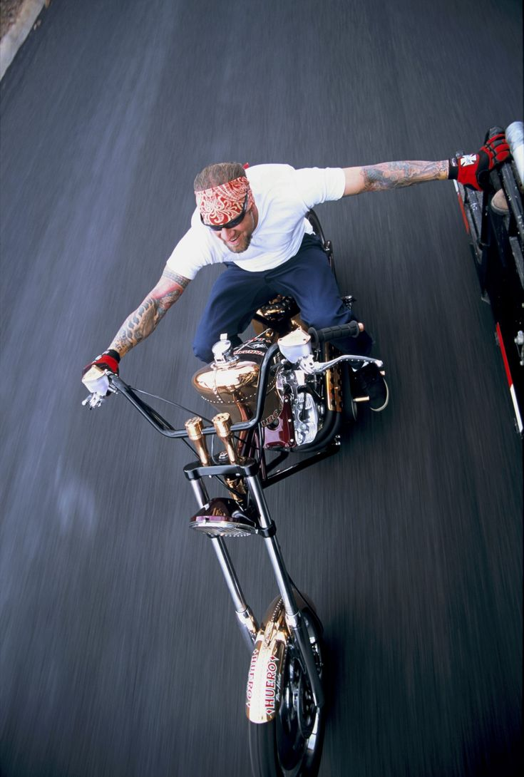 Jesse James. He's an idiot but the picture is cool.