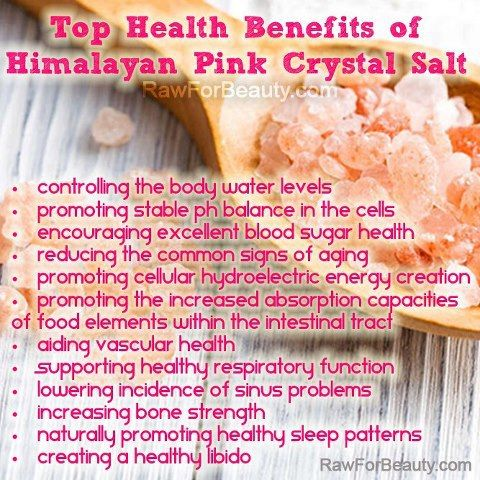 Health Benefits of Himalayan Pink Crystal Salt