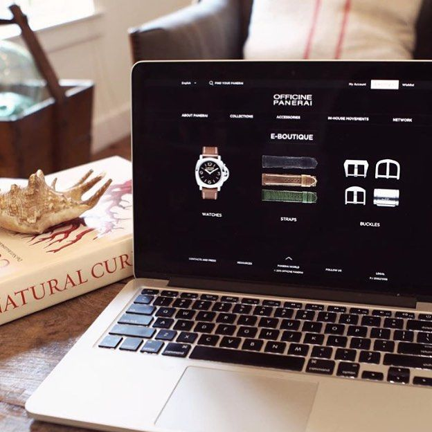 So, Panerai open an American e-Boutique. Would you buy a luxury watch online? How long until other brands follow suit? Tell us.... ️ #Panerai