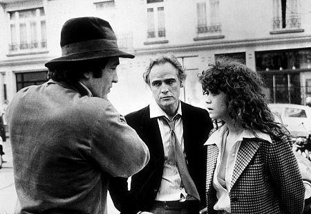 """Last Tango in Paris"" Marlon Brando, Maria Schneider, Bernardo Bertolucci"