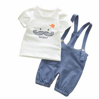 c3c296af7 BibiCola Baby Boys Clothing Sets Bebe Sports Suits Summer Children's  Tracksuit Clothes Sets Kids Boys Cotton Shirt+Belt Trousers