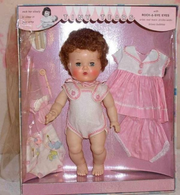 1960s tiny tears dolls in box | Tiny Tears doll | Page 1 | A Century of Christmas Toys | Friends ... by monique
