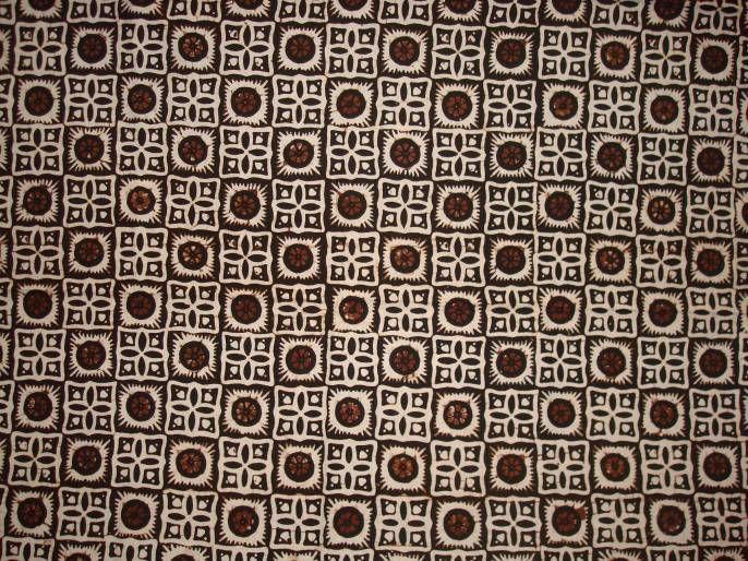 batik corak kotak | Home Dec Textiles | Pinterest