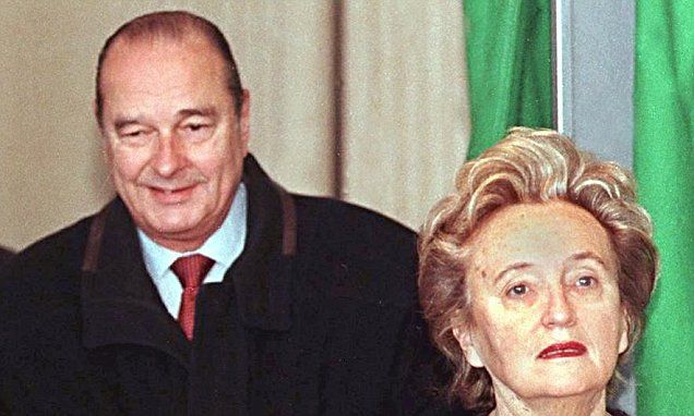 New book reveals former French president Jacques Chirac's infidelity. 'Staff called him Mr Three Minutes, shower included': Bernadette Chirac takes revenge on philandering president.