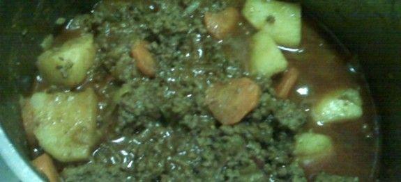 Geurige Kerrie maalvleis | Boerekos – Kook met Nostalgie