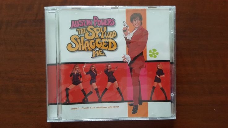 Austin Powers The Spy Who Shagged Me (OST) CD US 9 47348-2 SEALED Madonna R.E.M.