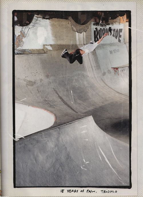 Tony Trujillo kills Burnside... with a big ass smokin backside method. TNT is the best living fusion of Oldschool style with mental balls out tech ever. Antihero Skateboards - what a team.