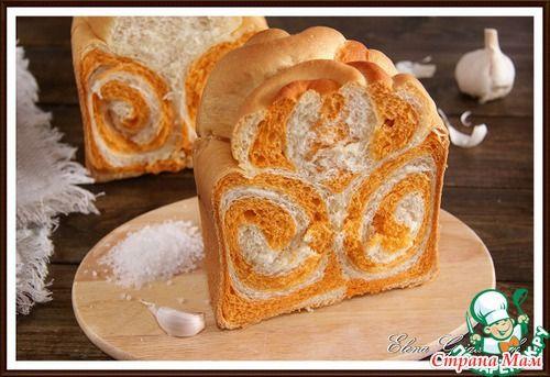 Узорный молочный хлеб