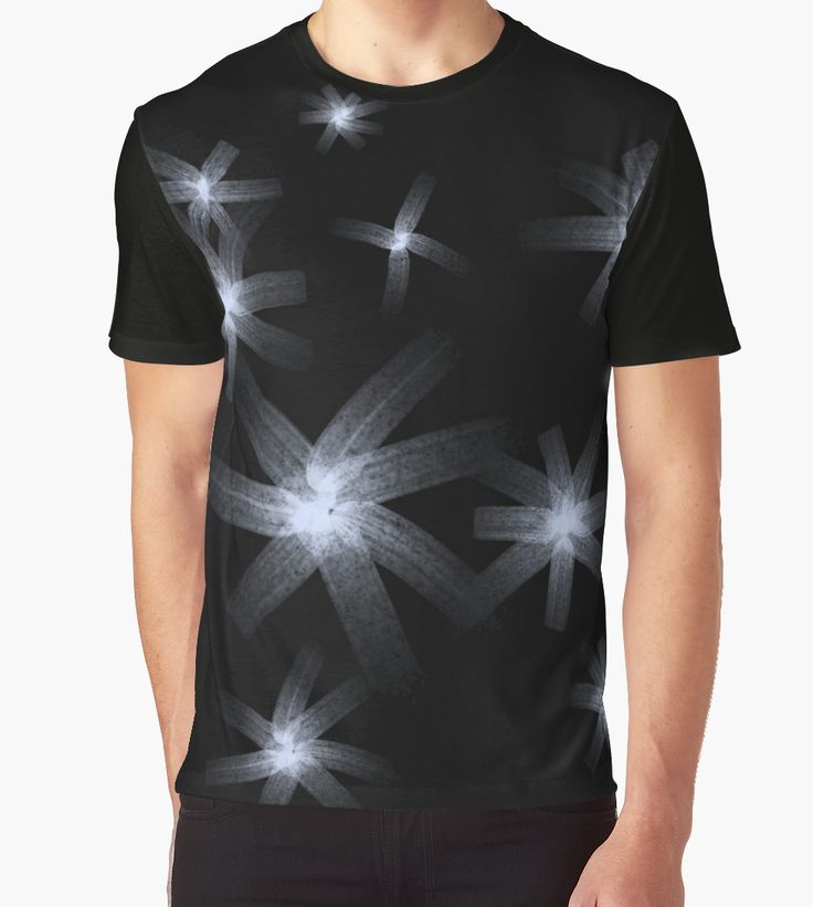 Stars by Silvia Ganora - #tshirts #tees #abstract #apparel #dark