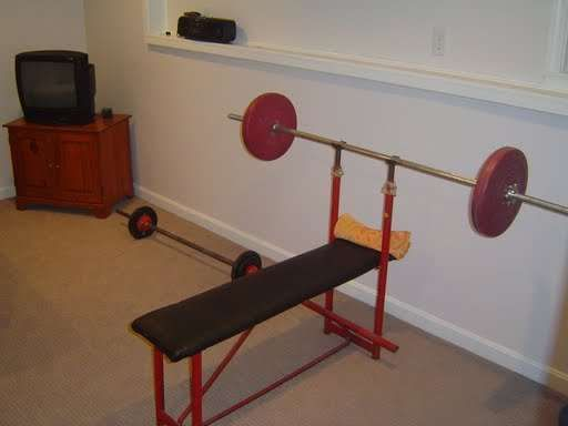 Basement home gyms create your own workout room and