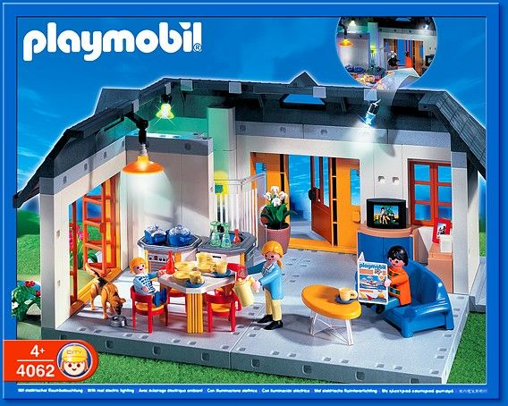 PLAYMOBIL� set #4062 - Apartment with Interiour Lights