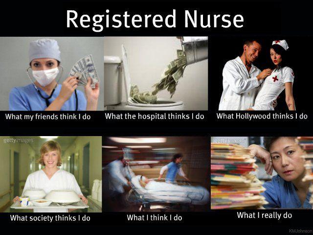 What do nurses do?