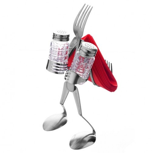 Fork man table topper. - We have one of these from Earth and Wears in Dallas, PA on main street