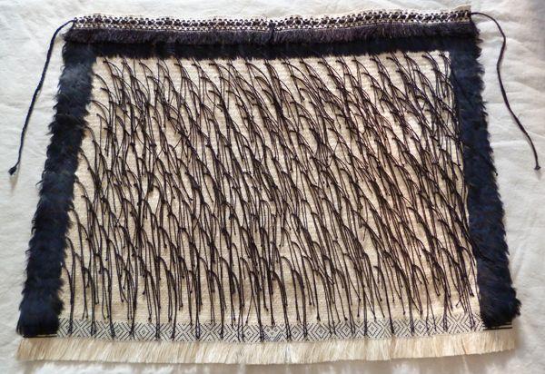 My first Korowai – Weaving Is Pretty Awesome