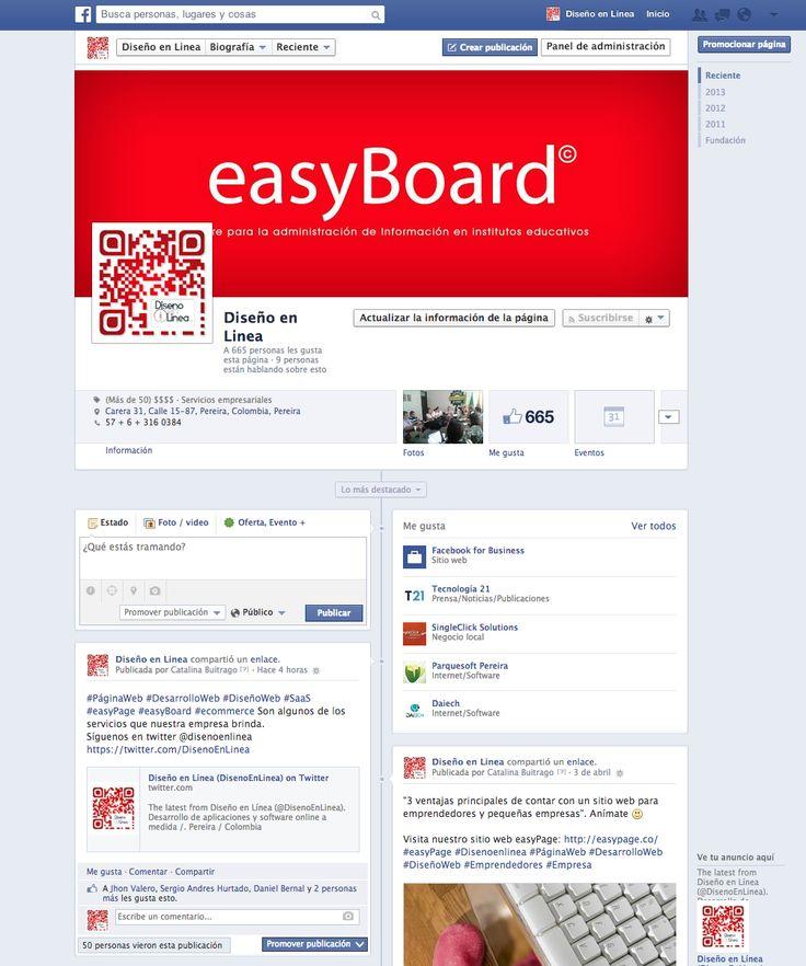 Visita nuestra página en facebook y dale me gusta! :D