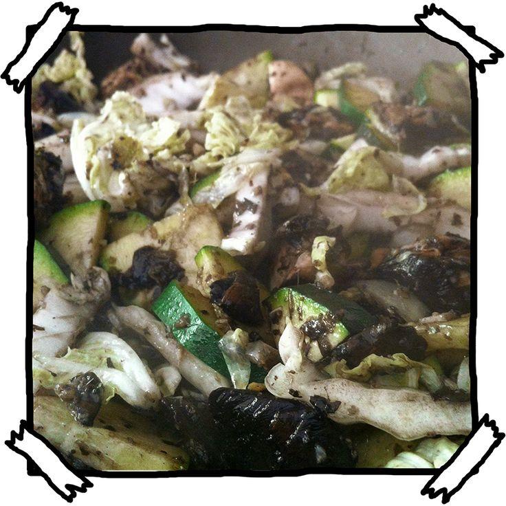 Some Serious Gourmet Shit: Asian Style Mushroom Stir-fry