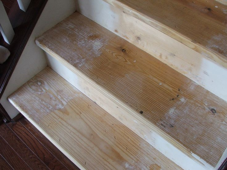 Under $100 Carpeted Stair To Wooden Tread Makeover DIY Contributed By  Cleverly Inspired This Post Contains Some Affiliate Links For Your  Convenienu2026