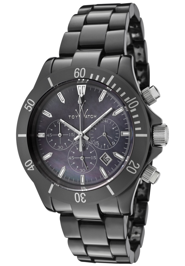 Price:$595.47 #watches ToyWatch LCC04BK, This lightweight ToyWatch displays an intricate design within its encased dial. Its chronograph showcases an outstanding performance in precision and versatility.