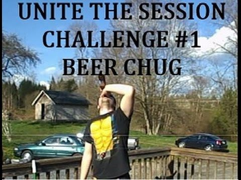 Challenge #1-Beer Chug - YouTube