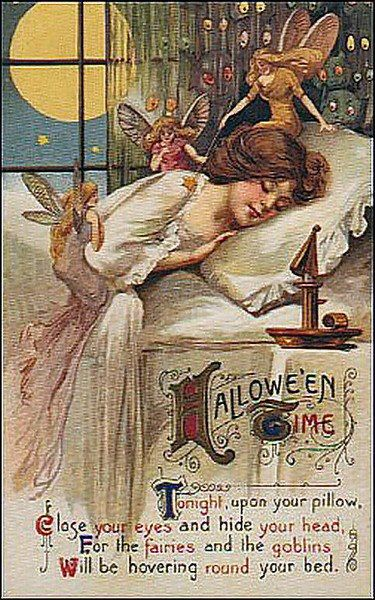 clockworkvortex:    I love vintage Halloween artwork