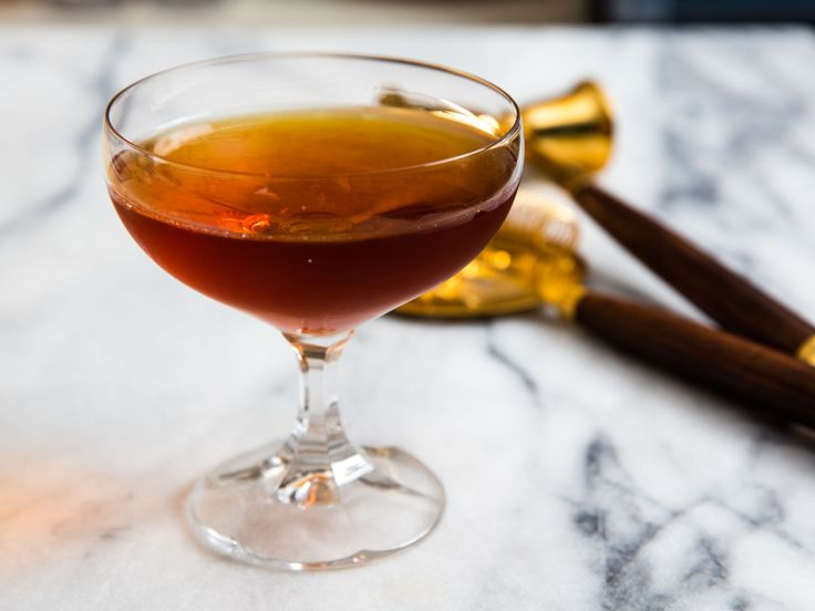 100-Year-Old Cigar 1 3/4 ounces (50ml) aged rum, such as Ron Zacapa 23 1/2 ounce (15ml) Cynar 1/2 ounce (15ml) Bénédictine 1/4 ounce (10ml) peaty Scotch, such as Laphroaig 1 dash Angostura bitters 1/4 ounce (10ml) absinthe