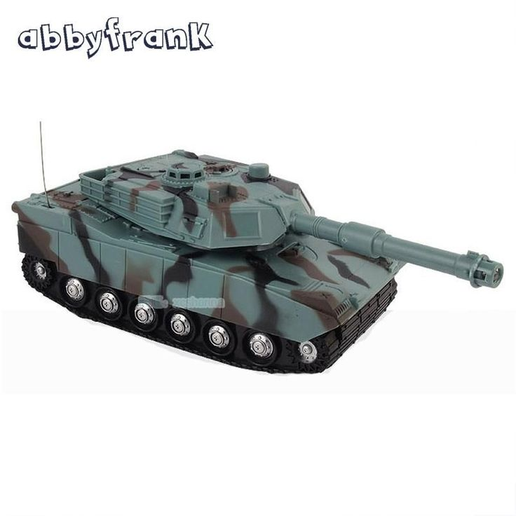 Abbyfrank 1:22 RC Tank Battle Game Tank Model RC Radio Remote Control Fighting Tank 360 Rotation Music LED Toys For Children
