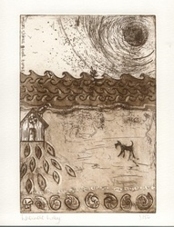 I See The Sea  Etching