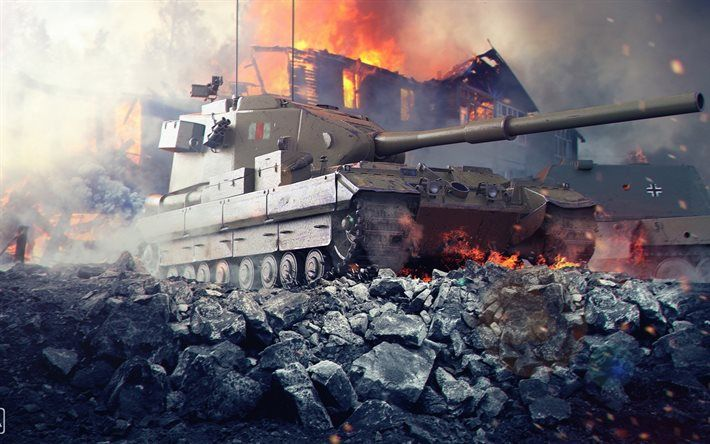 world of tanks, wot, fv183, Self-propelled artillery mount