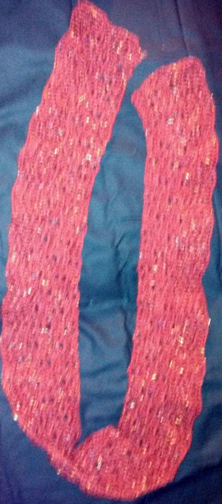 A scarf I made.
