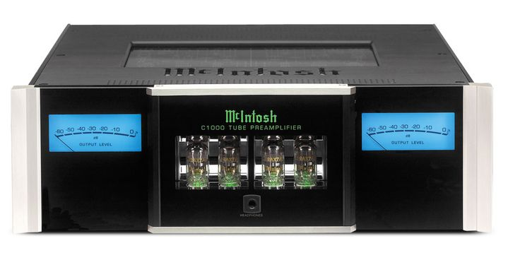 Étage de pré-amplification à tubes Mc Intosh C1000T : Une dégradation du son minimisée. #EasyLounge #mcintosh